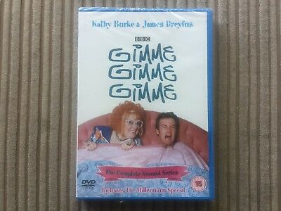 New & Sealed Gimme, Gimme, Gimme - Series 2 Dvd BBC Kathy Burke