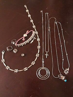 Lot Vintage STERLING SILVER 925 Jewelry link of London total 95 grams