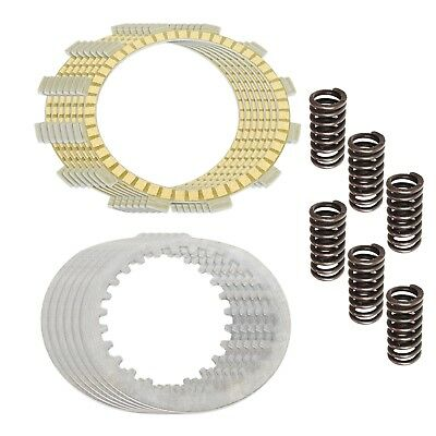 CLUTCH FRICTION STEEL PLATES and SPRINGS KIT Fits YAMAHA DT250 DT400 RD400 TY250