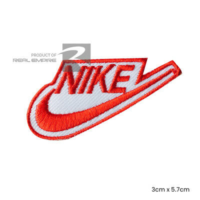 New Embroidered Nike Sports Logo  Sew on/Iron on Patch Nike Sports Uk Seller