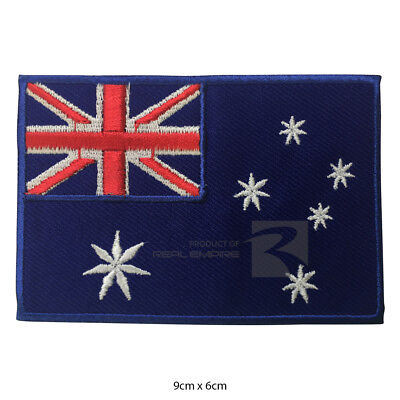 Australian National Flags Embroidery Patch/Badge Iron on Or Sew On Patch Badge