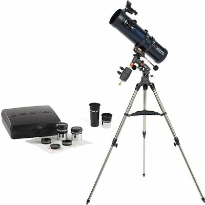 NEW Celestron AstroMaster 130EQ with Eyepiece Kit -- All $$ 4 Charity