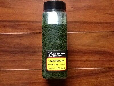 Woodland Scenics Medium Green Underbrush Clump-Foliage  # FC1636 Factory Sealed