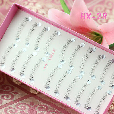 11af0a198d8 10 Pairs Lower Under Bottom Eye Lashes Extension False Eyelashes Eye Lashes  Make