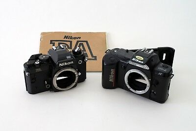 Nikon FA and Nikon F401 bodies for spares or repair