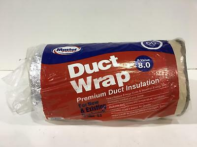 Master Flow INSWRP60R8 60 sq. ft. R-8 Insulated Duct Wrap New