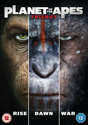Planet of the Apes Trilogy DVD (2017) James Franco
