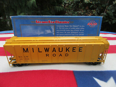 Atlas Spur 0  PS-4427 Hopper  Milwaukee Road   O-Scale Eisenbahnen