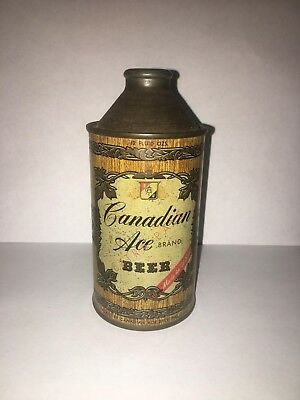 Canadian Ace Cone Top Beer Can
