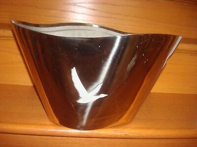 Grey Goose Vodka Stainless Steel Ice Bucket FREE SHIPPING