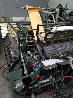 kluge foiling die cutting embossing machine 13x19
