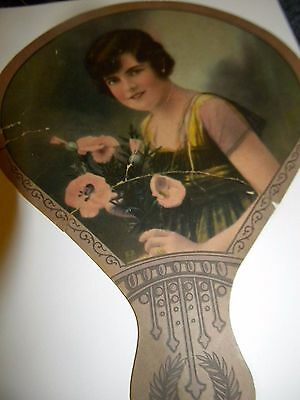 Early 1900's Vintage LADY.. HERSHEY'S ICE CREME.. Coshocton Ohio.. Made USA.