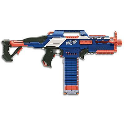Nerf Elite Rapidstrike CS18 Motorised Blaster Toy Darts Be The Top Gun in Games