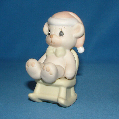 Precious Moments Figurine - pm Christmas 522856, Have A Beary Merry Christmas w