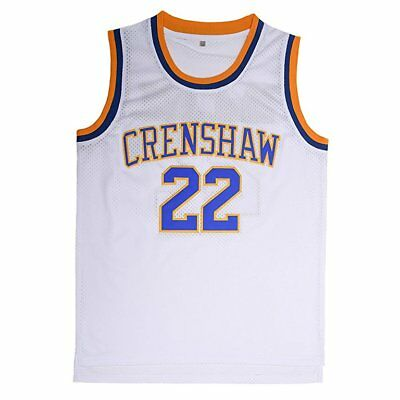 036d2a5c9003 Quincy McCall  22 Crenshaw High School Basketball Jersey Love and Basketball