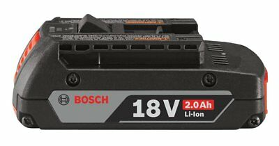 New Genuine Bosch BAT612 18V Battery 2.0Ah Lithium Ion 18-Volt Free Shipping
