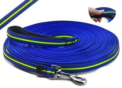 RIHON YOGADOG - Durable 15 Ft to 50 Ft Dog Tracking/Training Lead Leash - Long -
