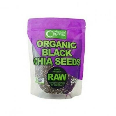 Absolute Organic Chia Seeds 250g