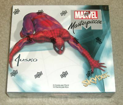 Marvel Masterpieces (featuring Joe Jusko) Hobby Box Upper Deck 2016 SUPER RARE