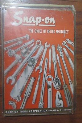 snap on  metal sign MAN CAVE brand new