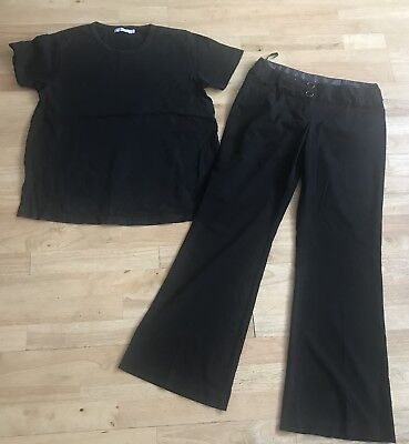 maternity bundle size 10 black top trousers blooming marvellous new look