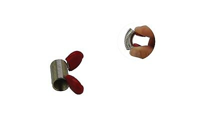 "2 Large Bead Stoppers, 1 1/2"", 19 x 10mm, Stringing Beads Jewellery Making J2183"