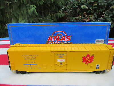 Atlas Spur 0  PS-1 Plug Door Box Car  Napierville Junction   O-Scale Eisenbahnen