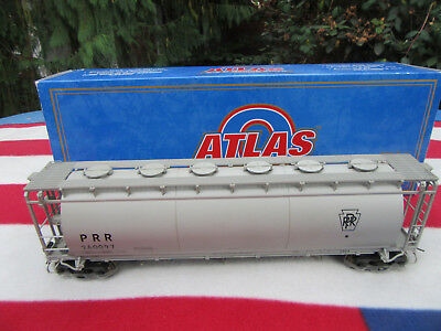 Atlas Spur 0  3-Bay Cylindrical Hopper  Pennsylvania   O-Scale Eisenbahnen