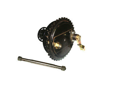 Royal Enfield Rear Half Width Complete Wheel Hub And Brake Assembly