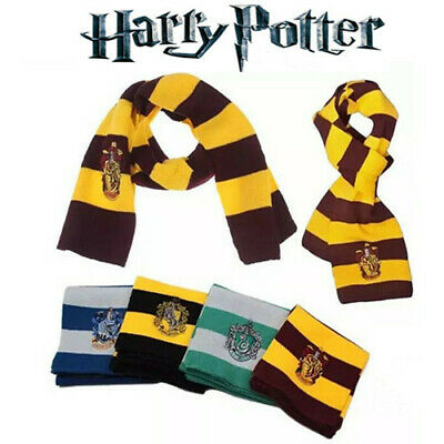 Halloween Harry Potter Gryffindor Ravenclaw Slytherin Scarf Costume Accessories