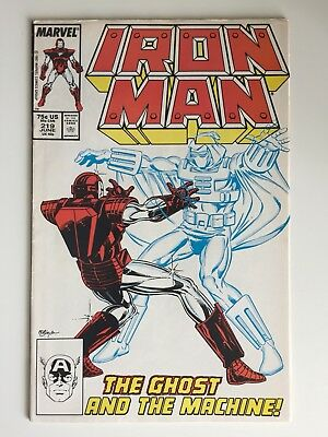 Iron Man # 219 First App Ghost Ant-Man & The Wasp Movie Villain Marvel Comics