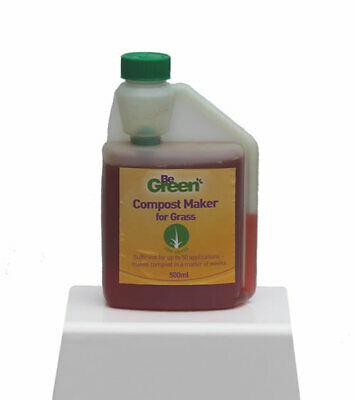 500ml Be Green COMPOST Maker ACCELERATOR for Grass and GARDEN WASTE