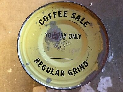 Vintage Maxwell House Coffee 1 Lb Tin Can