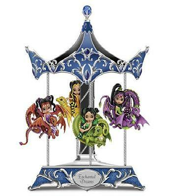 Jbg Dragon Ling Carousel Enchanted Dreams Jasmine Becket-Griffith ~In Stock Now!