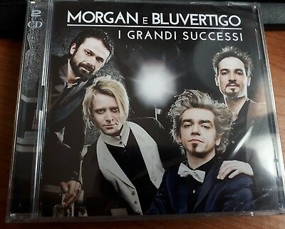 MORGAN e BLUVERTIGO - I GRANDI SUCCESSI - DOPPIO  CD SIGILLATO (SEALED)