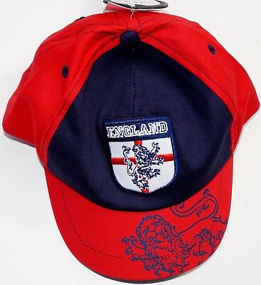 Boy's England Football Team Cap/Hat One Size Age 6-23 Months