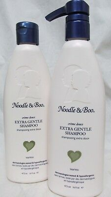 Noodle and Boo Extra Gentle Shampoo, 32 Total oz ~ 2 Pack