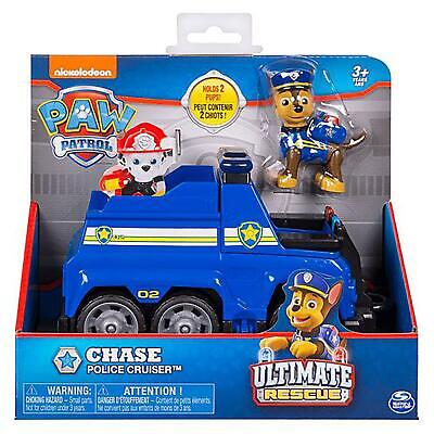 Paw Patrol Ultimate Rescue Chase Police Cruiser Pup Figure Children's Toy Play