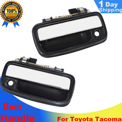 Front Outside Outer Exterior Chrome Door Handle PAIR (Left-Right) 95-2004 Tacoma