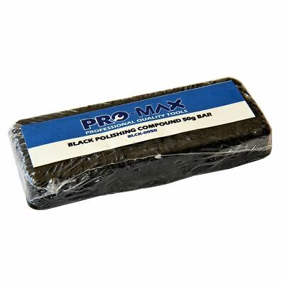 Pro-Max 50g Bar Black Steel & Stainless Steel Metal Polishing Buffing Compound