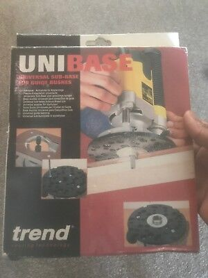 Trend UNIBASE: Universal Sub-Base For Guide Bushes