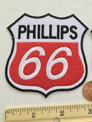 """*Phillips 66 Oil & Gas Co. EMBROIDERED IRON ON PATCH*3""""x3"""""""