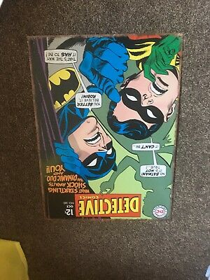 Detective Comics 380 Aluminium sign