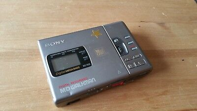 Sony MD Player MZ R 30 gebraucht used not tested ungetestet recorder portable
