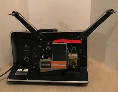 TELEX 16mm Motion Picture Sound Projector #1015AR - w/All Accessories -Unused