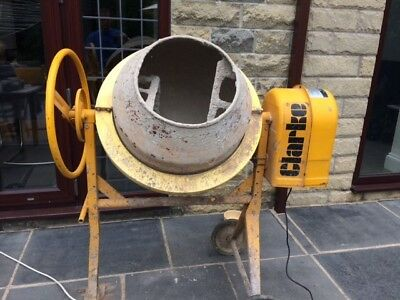 Clarke electric cement mixer