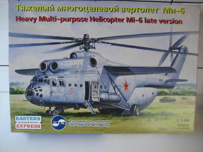 HEAVY MULTI-PURPOSE HELICOPTER Mi-6 - LATE VERSION - EE1/144