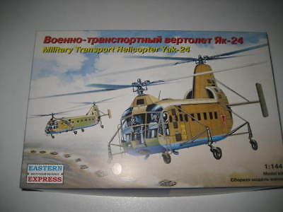 MILITARY TRANSPORT HELICOPTER YAK-24, Estern Expresss 1/144