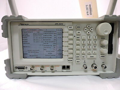 Aeroflex P25 Wireless Radio Test Set, IFR2975, With Remote CAL, & EVM.