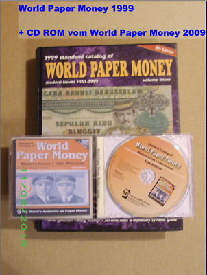World Paper Money  1999 mit DVD von WPM 2009